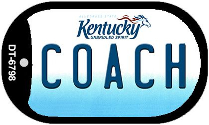 Kentucky Coach Wholesale Novelty Metal Dog Tag Necklace DT-6798