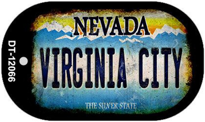 Nevada Virginia City Wholesale Novelty Metal Dog Tag Necklace DT-12066