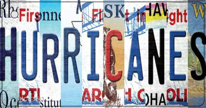 Hurricanes Strip Art Wholesale Novelty Metal Key Chain KC-13243