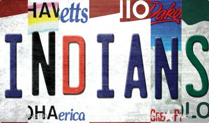 Indians Strip Art Wholesale Novelty Metal Magnet M-13190