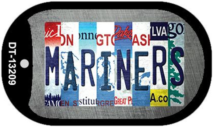 Mariners Strip Art Wholesale Novelty Metal Dog Tag Necklace DT-13209