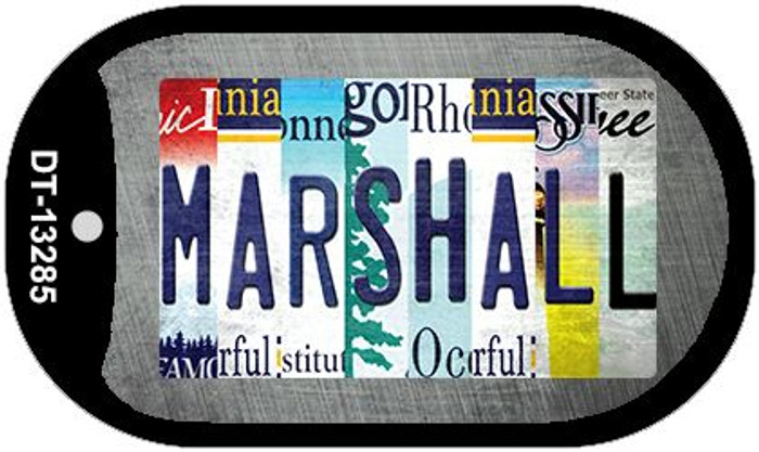 Marshall Strip Art Wholesale Novelty Metal Dog Tag Necklace DT-13285