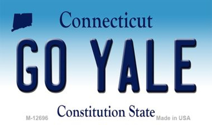 Go Yale Wholesale Novelty Metal Magnet M-12696