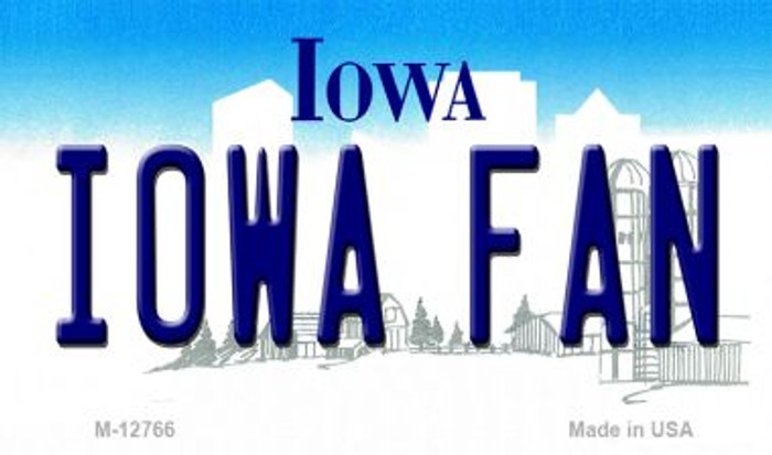Iowa Fan Wholesale Novelty Metal Magnet M-12766
