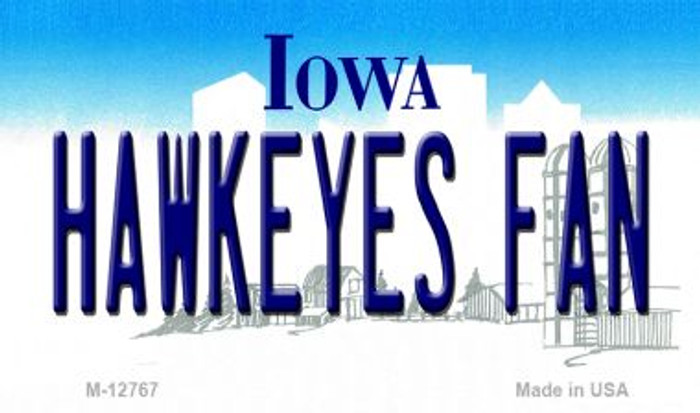 Hawkeyes Fan Wholesale Novelty Metal Magnet M-12767