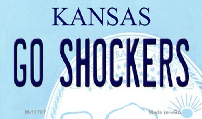 Go Shockers Wholesale Novelty Metal Magnet M-12787