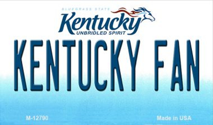 Kentucky Fan Wholesale Novelty Metal Magnet M-12790