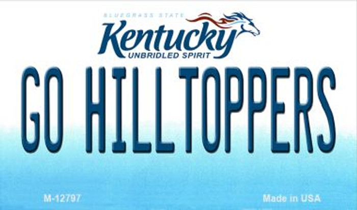 Go Hilltoppers Wholesale Novelty Metal Magnet M-12797