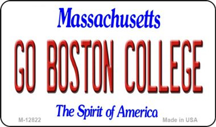 Go Boston College Wholesale Novelty Metal Magnet M-12822