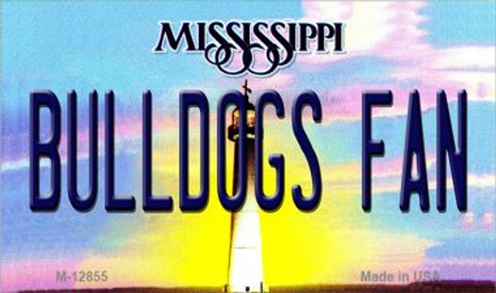 Bulldogs Fan Wholesale Novelty Metal Magnet M-12855