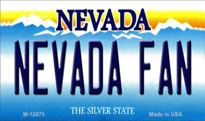 Nevada Fan Wholesale Novelty Metal Magnet M-12875