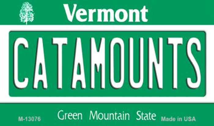Catamounts Wholesale Novelty Metal Magnet M-13076