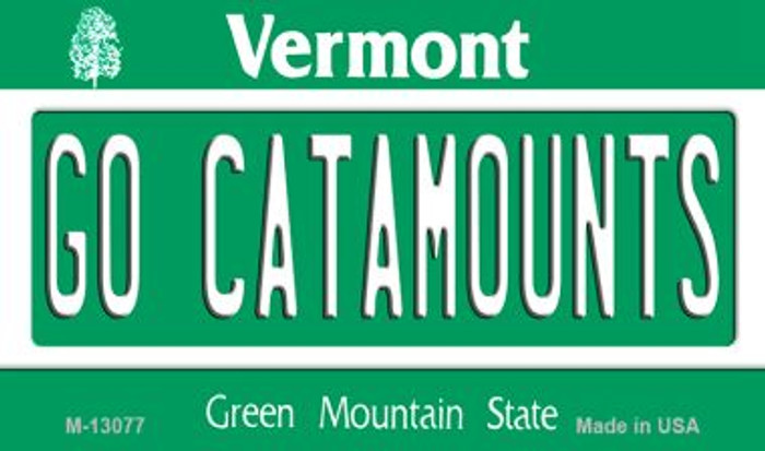 Go Catamounts Wholesale Novelty Metal Magnet M-13077