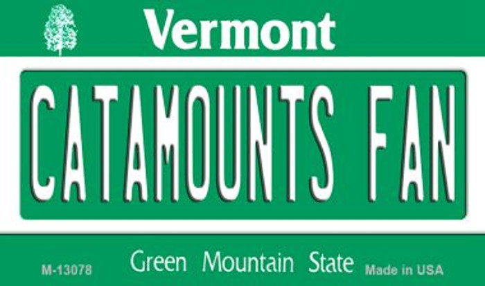 Catamounts Fan Wholesale Novelty Metal Magnet M-13078