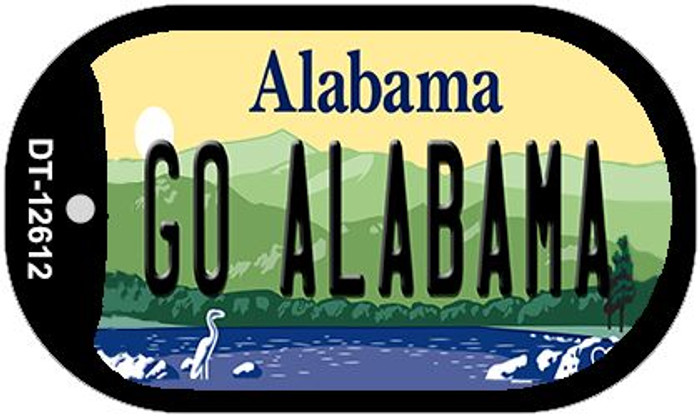 Go Alabama Wholesale Novelty Metal Dog Tag Necklace DT-12612