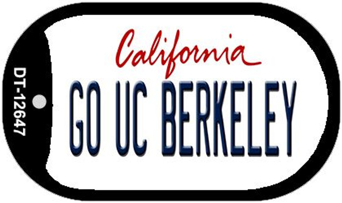 Go UC Berkeley Wholesale Novelty Metal Dog Tag Necklace DT-12647