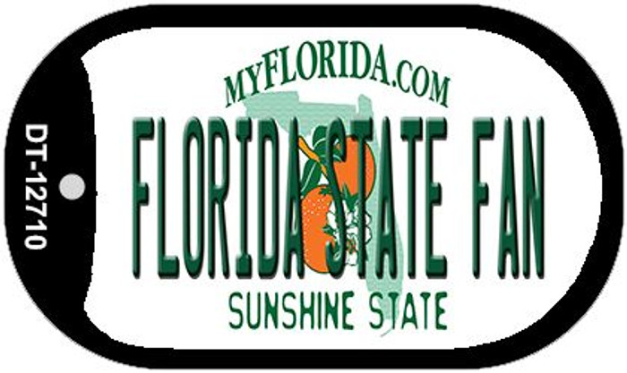 Florida State Fan Wholesale Novelty Metal Dog Tag Necklace DT-12710