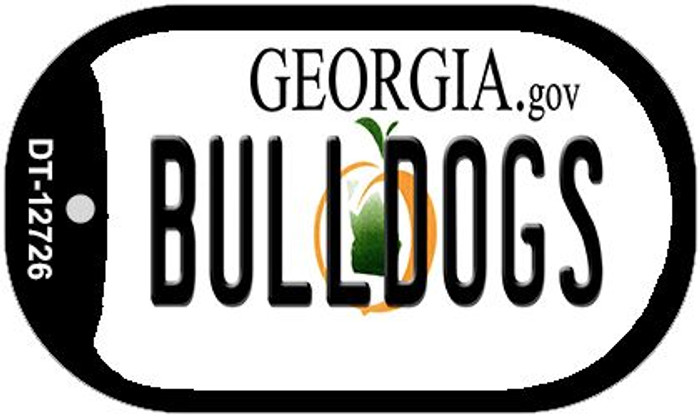 Bulldogs Wholesale Novelty Metal Dog Tag Necklace DT-12726