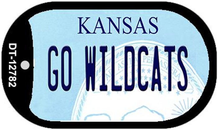 Go Wildcats Wholesale Novelty Metal Dog Tag Necklace DT-12782