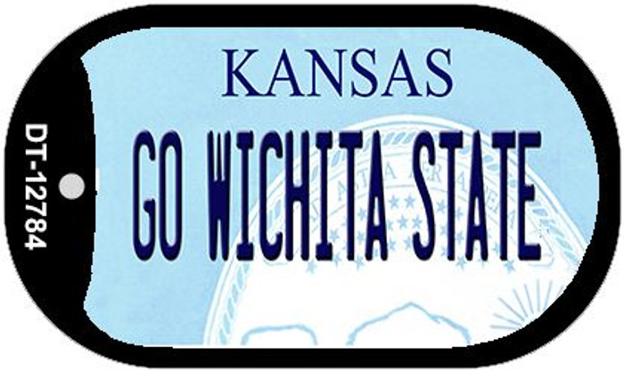 Go Wichita State Wholesale Novelty Metal Dog Tag Necklace DT-12784