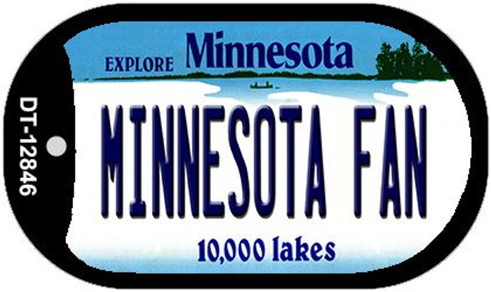 Minnesota Fan Wholesale Novelty Metal Dog Tag Necklace DT-12846