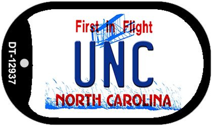 Univ North Carolina Wholesale Novelty Metal Dog Tag Necklace DT-12937