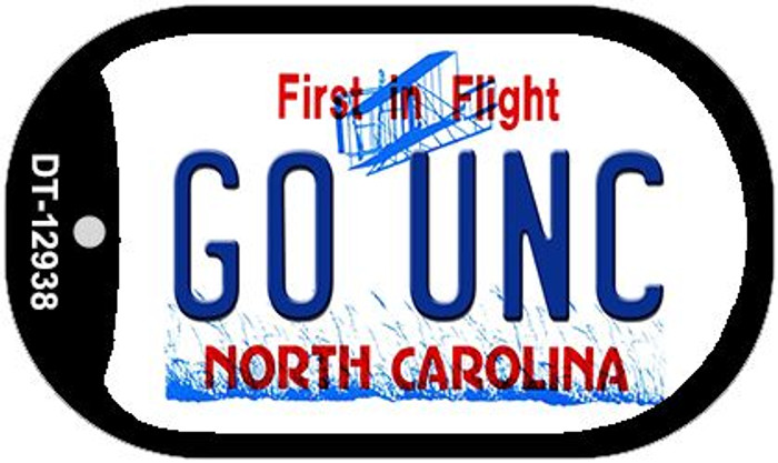 Go Univ North Carolina Wholesale Novelty Metal Dog Tag Necklace DT-12938