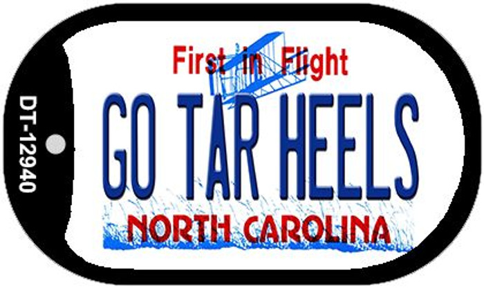 Go Tar Heels Wholesale Novelty Metal Dog Tag Necklace DT-12940
