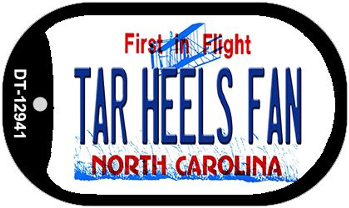Tar Heels Fan Wholesale Novelty Metal Dog Tag Necklace DT-12941