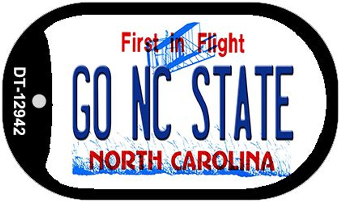 Go North Carolina State Wholesale Novelty Metal Dog Tag Necklace DT-12942