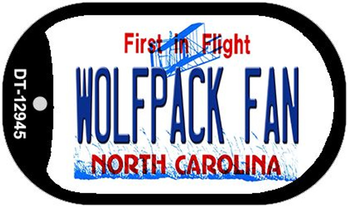 Wolfpack Fan Wholesale Novelty Metal Dog Tag Necklace DT-12945