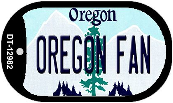 Oregon Fan Wholesale Novelty Metal Dog Tag Necklace DT-12982