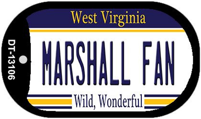 Marshall Fan Wholesale Novelty Metal Dog Tag Necklace DT-13106