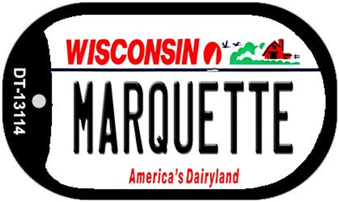 Marquette Wholesale Novelty Metal Dog Tag Necklace DT-13114