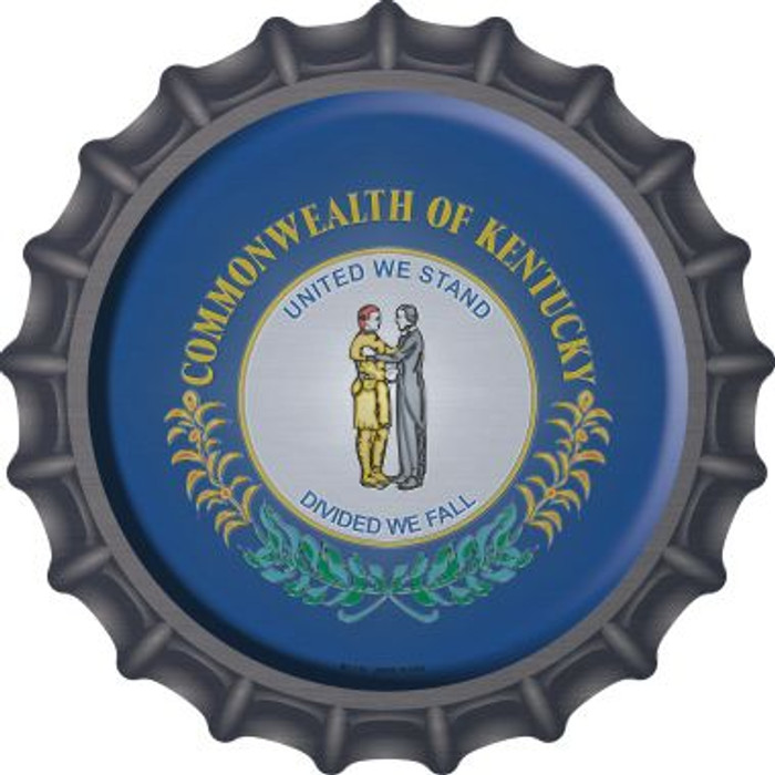 Kentucky State Flag Wholesale Novelty Metal Bottle Cap BC-116