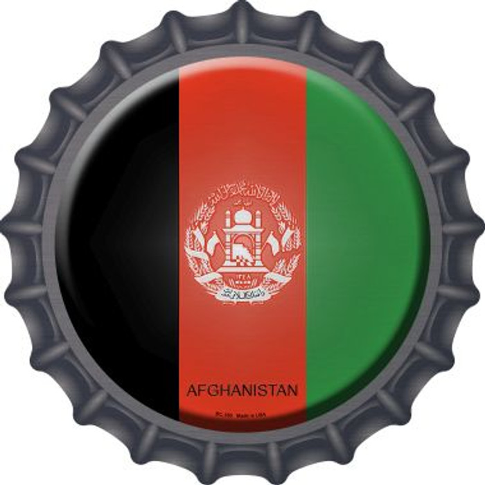 Afghanistan Country Wholesale Novelty Metal Bottle Cap BC-180