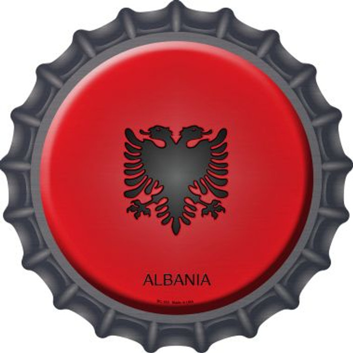 Albania Country Wholesale Novelty Metal Bottle Cap BC-183
