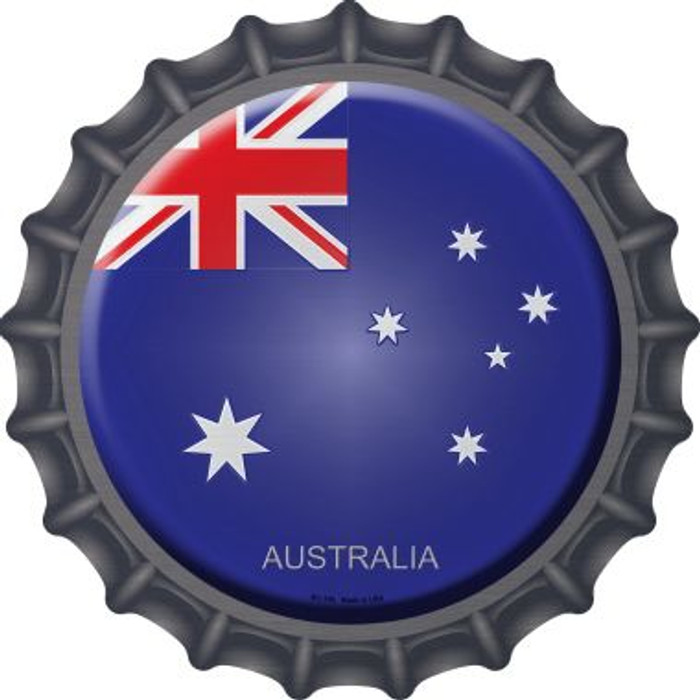Australia Wholesale Novelty Metal Bottle Cap BC-196