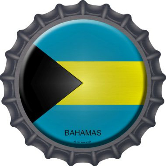 Bahamas Country Wholesale Novelty Metal Bottle Cap BC-199
