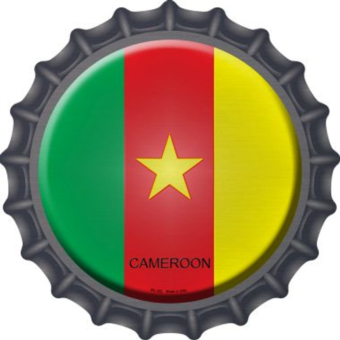 Cameroon Country Wholesale Novelty Metal Bottle Cap BC-222