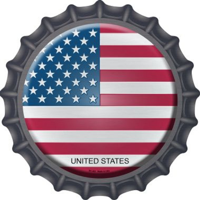 United States Country Wholesale Novelty Metal Bottle Cap BC-463