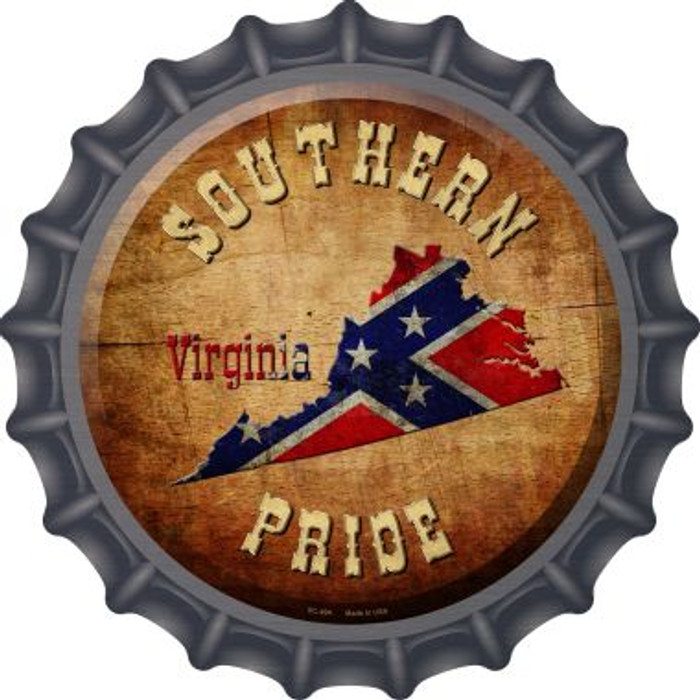 Southern Pride Virginia Wholesale Novelty Metal Bottle Cap BC-494