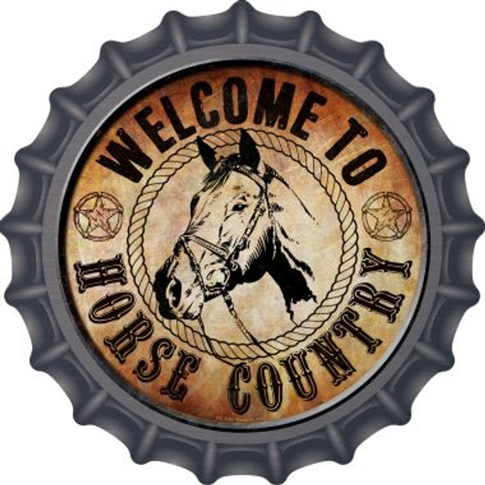 Horse Country Wholesale Novelty Metal Bottle Cap BC-596