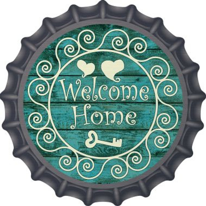 Welcome Home Wholesale Novelty Metal Bottle Cap BC-726