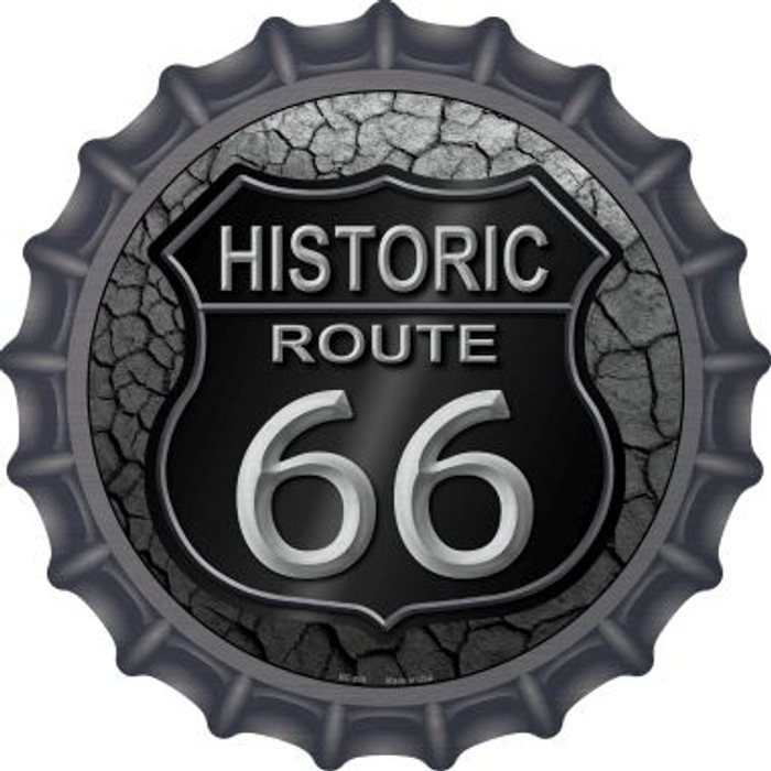Historic Route 66 Novelty Metal Bottle Cap Wholesale BC-809