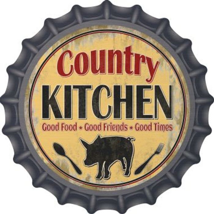 Country Kitchen Wholesale Novelty Metal Bottle Cap BC-850