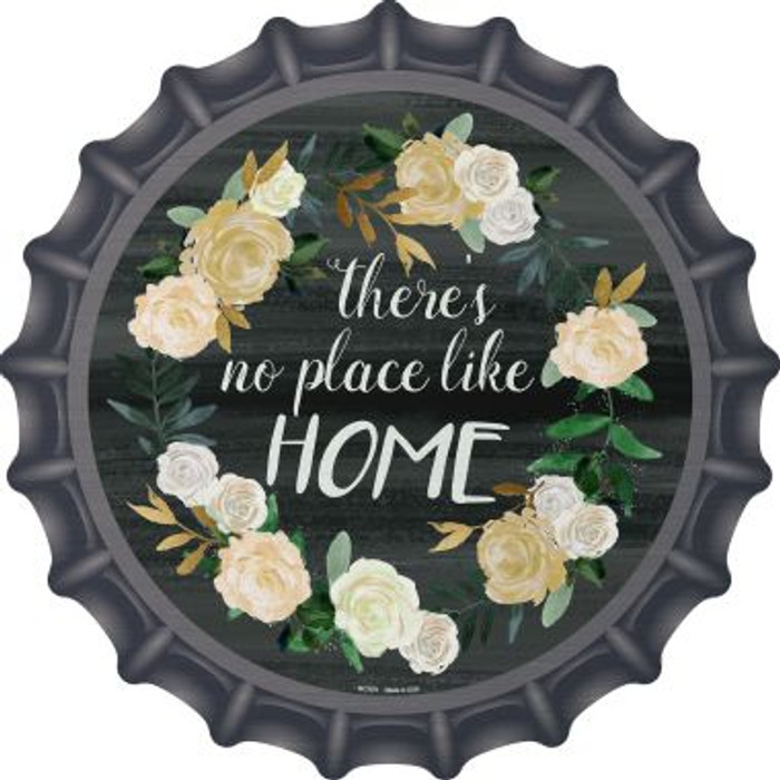 No Place Like Home Wholesale Novelty Metal Bottle Cap BC-879