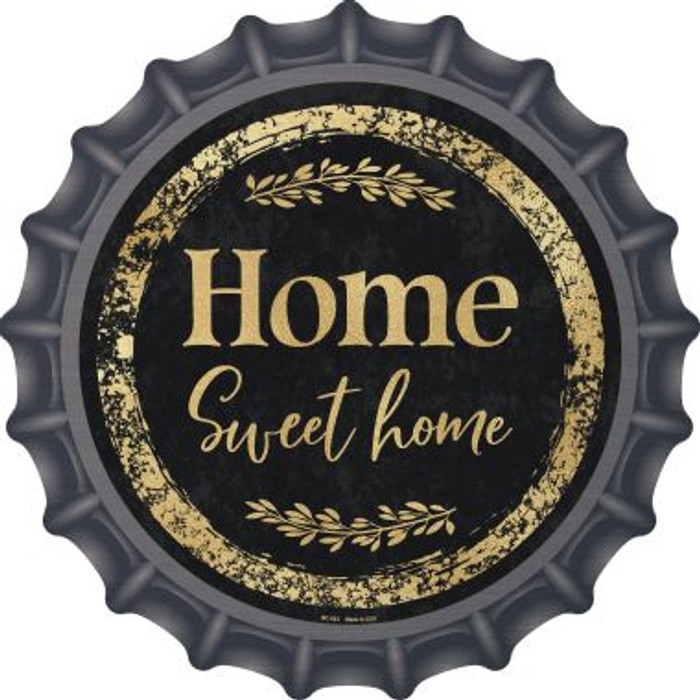 Home Sweet Home Wholesale Novelty Metal Bottle Cap BC-883