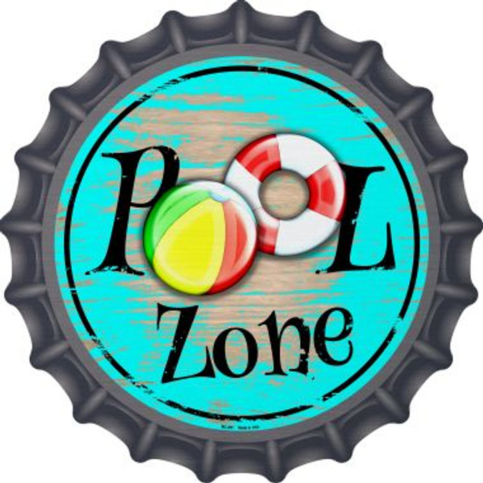 Pool Zone Wholesale Novelty Metal Bottle Cap BC-891