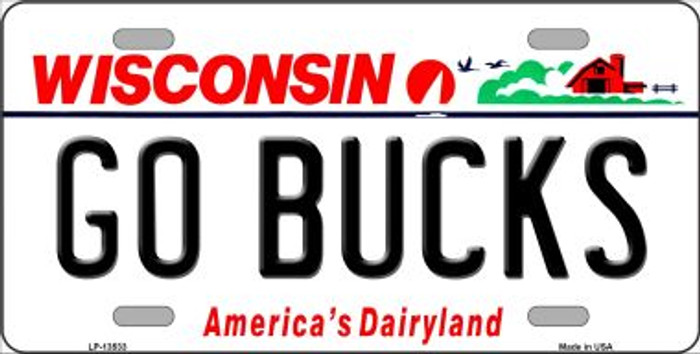 Go Bucks Wholesale Novelty Metal License Plate Tag LP-13533